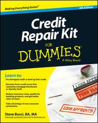 Книга Credit Repair Kit For Dummies - Автор Steve Bucci