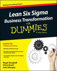 Книга Lean Six Sigma Business Transformation For Dummies - Автор John Morgan