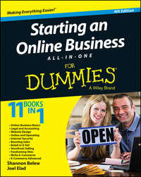 Книга Starting an Online Business All-in-One For Dummies - Автор Joel Elad