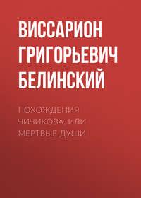 Купить книгу Похождения Чичикова, или Мертвые души, автора Виссариона Григорьевича Белинского