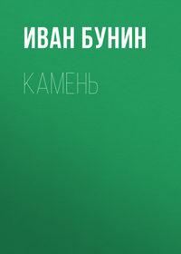 Книга Камень - Автор Иван Бунин
