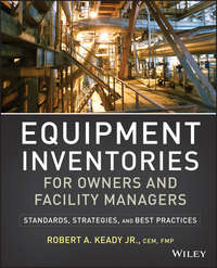Книга Equipment Inventories for Owners and Facility Managers. Standards, Strategies and Best Practices - Автор R. Keady