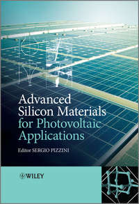 Книга Advanced Silicon Materials for Photovoltaic Applications - Автор Sergio Pizzini