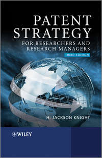 Книга Patent Strategy for Researchers and Research Managers - Автор H. Knight