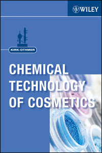 Книга Kirk-Othmer Chemical Technology of Cosmetics - Автор Kirk-Othmer