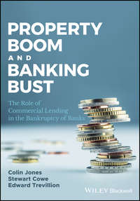 Купить книгу Property Boom and Banking Bust. The Role of Commercial Lending in the Bankruptcy of Banks, автора Stewart  Cowe