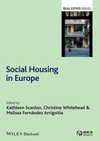 Купить книгу Social Housing in Europe, автора Kathleen  Scanlon