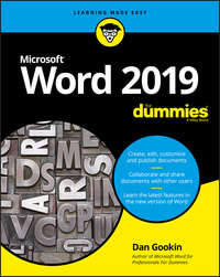 Купить книгу Word 2019 For Dummies, автора Dan  Gookin