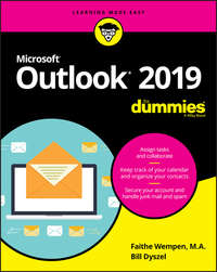 Купить книгу Outlook 2019 For Dummies, автора Bill  Dyszel
