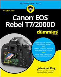Купить книгу Canon EOS Rebel T7/2000D For Dummies, автора