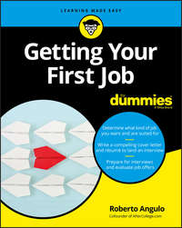 Купить книгу Getting Your First Job For Dummies, автора Roberto  Angulo