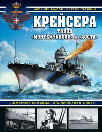 Купить книгу Крейсера типов «Монтекукколи» и «Аоста». «Пожарная команда» итальянского флота, автора Сергея Патянина