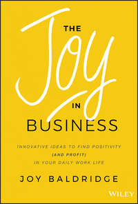Купить книгу The Joy in Business. Innovative Ideas to Find Positivity (and Profit) in Your Daily Work Life, автора