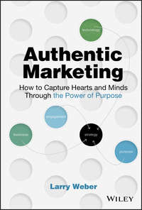 Купить книгу Authentic Marketing. How to Capture Hearts and Minds Through the Power of Purpose, автора Larry  Weber