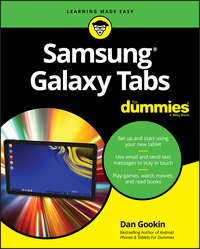 Купить книгу Samsung Galaxy Tabs For Dummies, автора Dan  Gookin