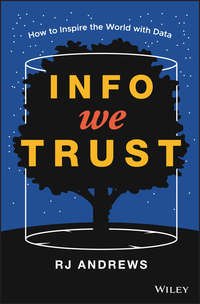 Купить книгу Info We Trust. How to Inspire the World with Data, автора