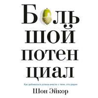 Купить книгу Большой потенциал. Как добиваться успеха вместе с теми, кто рядом, автора Шона Эйкора