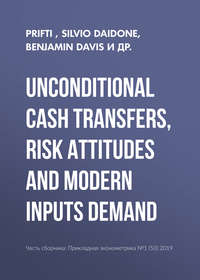 Купить книгу Unconditional cash transfers, risk attitudes and modern inputs demand, автора