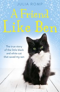 Купить книгу A Friend Like Ben: The true story of the little black and white cat that saved my son, автора