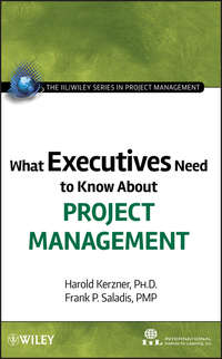 Купить книгу What Executives Need to Know About Project Management, автора Harold  Kerzner